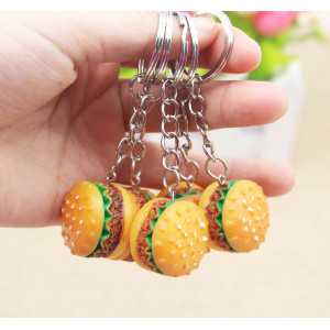 GK07 Aksesoris Tas Gantungan Kunci Bag Mini Burger