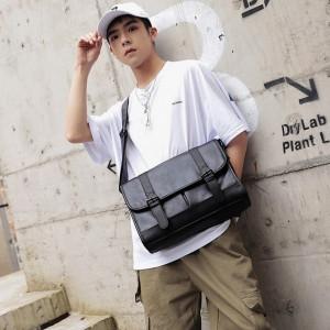 M15 Tas Import Messenger Kulit Oragon Selempang Men Bag Tas Import Me