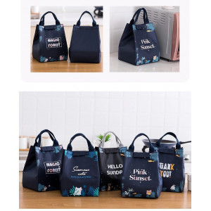 LB12 Lunch Box Magic Forest   / Cooler bag / Tas Bekal