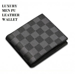 W131 Dompet Pendek Pria Luxury Male PU Leather Men Wallet