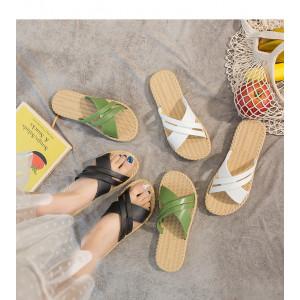 SH02 Sandal Wanita Import Non Slip Silang Cross