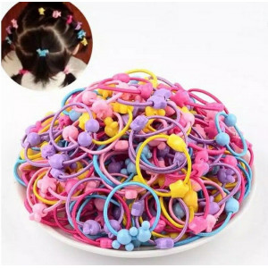 IK111 Ikat Rambut Anak Set 50 Little Girl Elastic Hair Band
