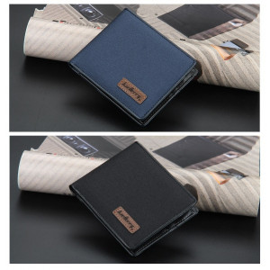 BA27 Dompet Pria Original Baellerry Canvas Men Wallet