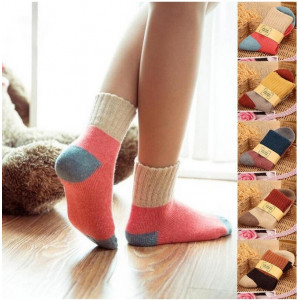 KK52 Kaos Kaki Korea Wanita Autumm Women Colorfull Sock Tebal