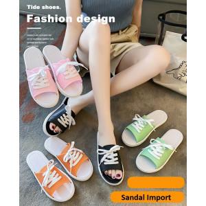 SH01 Sandal Wanita Non Slip Import Model Tali Ikat
