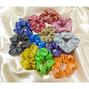 IK74 Ikat Rambut Wanita Scrunchie Elastic Sparking Women Hair Band
