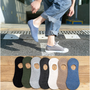KK38 Koas Kaki Pria Wanita Japanese Cotton Angkle Socks