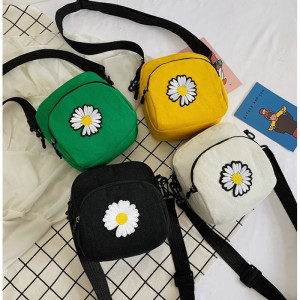 TS132 Tas Selempang Korea Mini Daisy flower Sling Bag