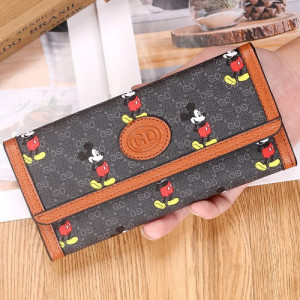 W81 Dompet Panjang Wanita Miki Luck Women Long Wallet