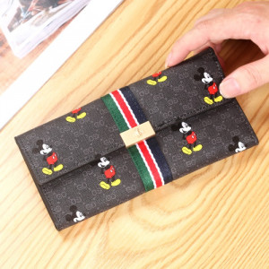 W82 Dompet Panjang Wanita Miki Flag Women Long Wallet