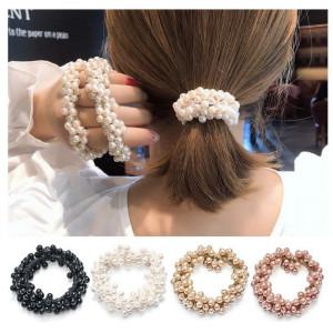 Ik21 Ikat Rambut Korea Full Mutiara Pearl
