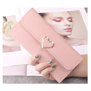 W64 Dompet Panjang Wanita Amazing Love/ Women Long Wallet