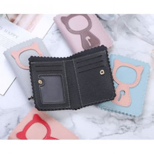 W16 Dompet Wanita Little Cat / Women Short Wallet