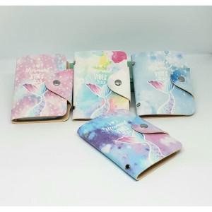 DKK07 Card Holder Dompet Kartu Karakter Lucu Imut Mermaid