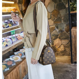 TS98 Korean High Quality Brown Queen Bee Sling Bag  Tas Selempang Wanita
