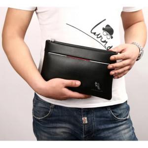 W09 Business Clutch Model Genova Tas tangan Handbag Dompet Pria