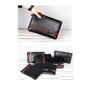 W11 Business Clutch Model Parma / Tas tangan Handbag Dompet Pria dan Wanita