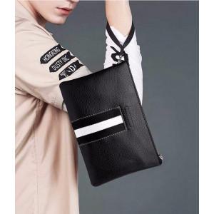 W07 Business Clutch Model Torino / Tas tangan Dompet Pria Wanita