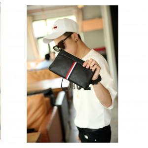 W08 Business Clutch Model Napoli / Tas tangan Dompet Pria dan Wanita