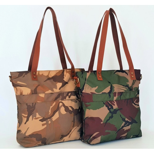 Army Fashion Tote shoulder Bag (A) / Tas Selempang Wanita