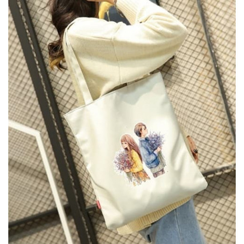 TC27 Korea Fun Tote Bag / Tas Selempang