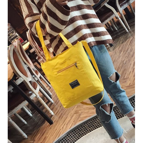 TC28 Korea Fashion Solid Color Tote shoulder Bag / Tas Selempang