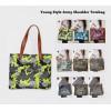Young Style Army Shoulder Tote Bag / Tas Kerja, Kampus, Travel Pundak