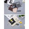 PF01 Creative Fun Print Portable A4 file Storage pouch bag